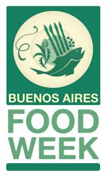 Buenos Aries Food Week. Logo Gentileza Fuudis