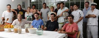 Empresarios gastronómicos del Bajo de San Isidro. Foto: Gentileza Bocas Abiertas