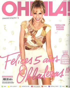 Revista OHLALA. Abril 2013. Gentileza OHLALA