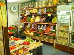 Puesto de frutas y verduras. Mercado de Juaramento. Foto: CocinayNegocios
